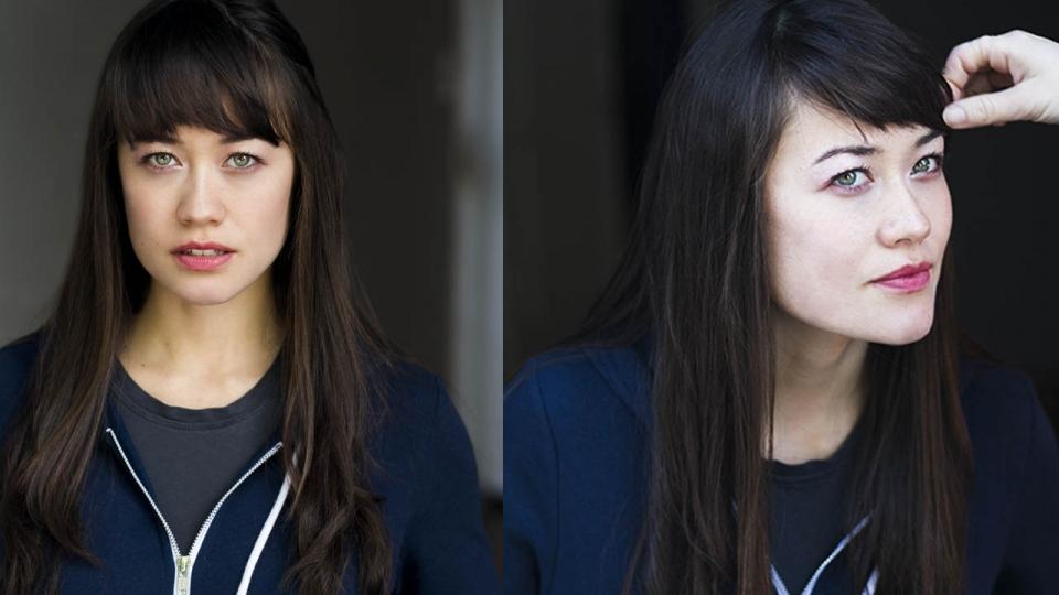Kayla Sarian BTS Headshots by Sascha Knopf Photography