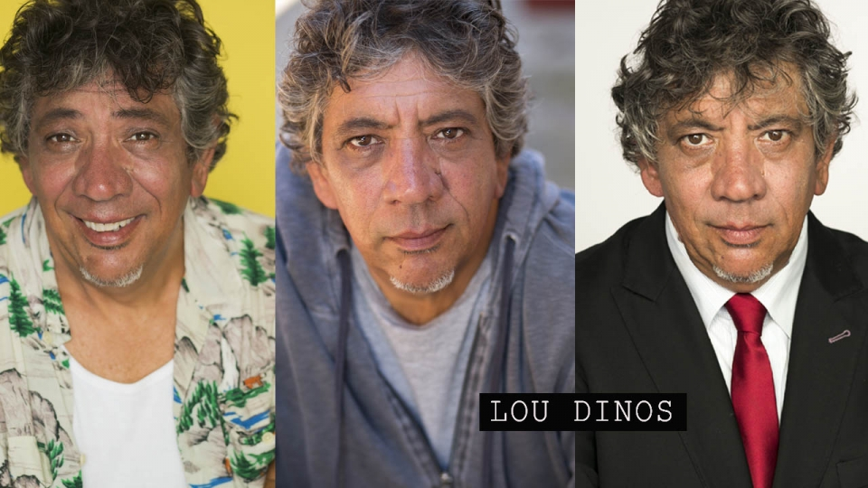 Comedian Lou Dinos Headshot by KNOPFoto: SASCHA KNOPF PHOTOGRAPHY
