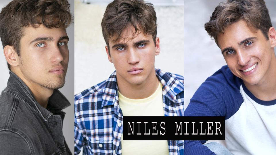 Niles Miller Headshot by KNOPFoto